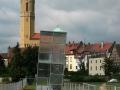 Ottokirche mit schiefen Turm